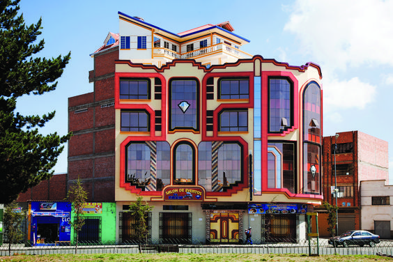 Freddy Mamani y el surgimiento de una nueva arquitectura andina en Bolivia,© Alfredo Zeballos