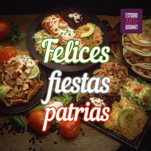 ¡Viva México y gastronomía!