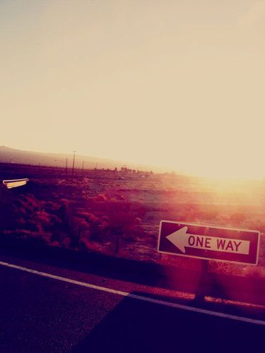 one way.