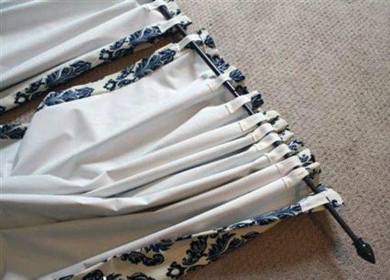 tuto couture rideaux