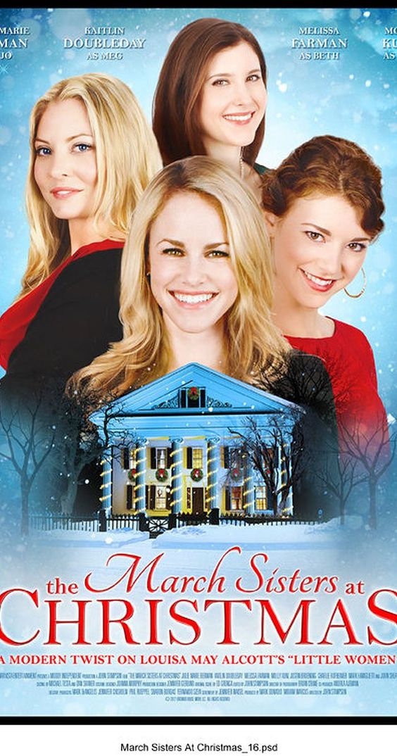 The March Sisters At Christmas Tv Movie 2012  Lifetime Tv -9205