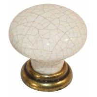Crete Knob - Antique Brass - 35mm