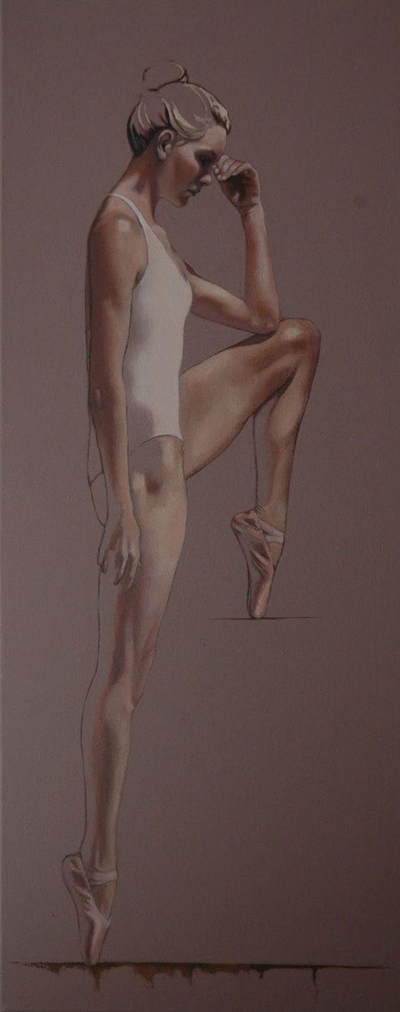 Al Saralis   British Figurative painter