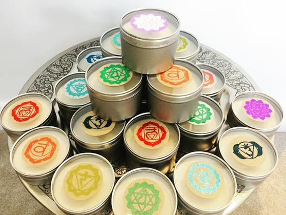 Remake Of My Original Chakra Range Offered Here In A Lovely Silver Tin With Transparent Lid 250m Essential Oils Gifts Essential Oil Blends Pure Essential Oils