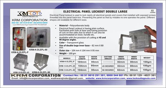 Pin On Electrical Panel Lockout Devices