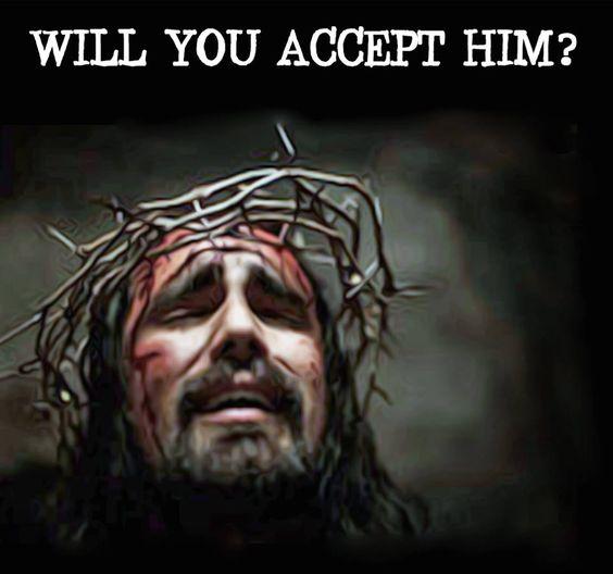 Ll accept god s salvation jesus suffered jesus face god loves jesus