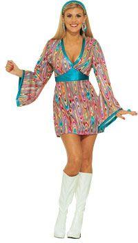 Moda 70 S, Moda De Los 70S, Trajes Varios, Accesorios Hipie, Moda Unica, Disfraces, Fiesta Corto, Ropa Años, Cada Ocasíon