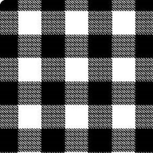 Black White Buffalo Plaid Check Tissue Paper 10 Large Sheets 20 By 26 Unbranded Anyoccasion Tissue Paper White Buffalo Craft Supplies