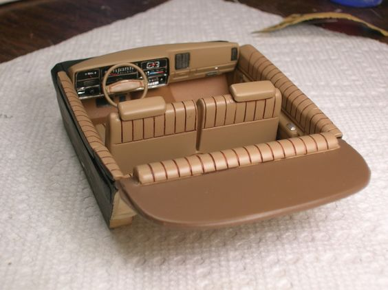 model interior excellent detail plastic model cars pinterest models interiors and