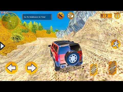 Offroad Jeep Prado Driving Truck Driver Sim 4x4 Offroad Suv Car