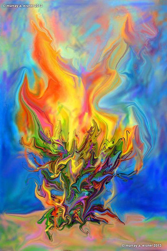 Burning Bush Art Enabling, My routine a...