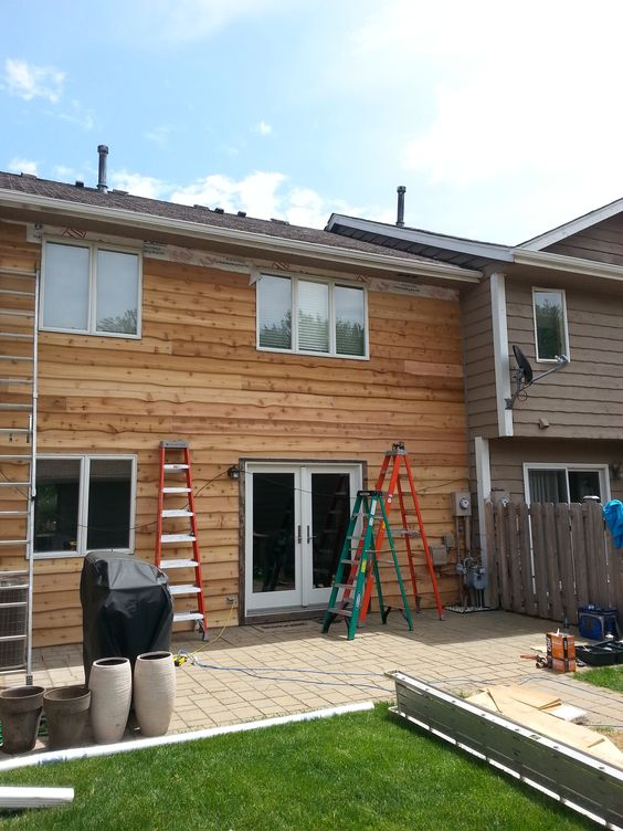 An exquisite looking Cedar #Siding done by #stylecraft