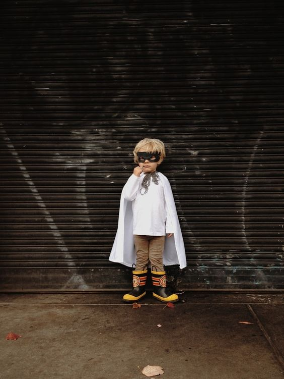Superhero Halloween costume | VSCO Grid