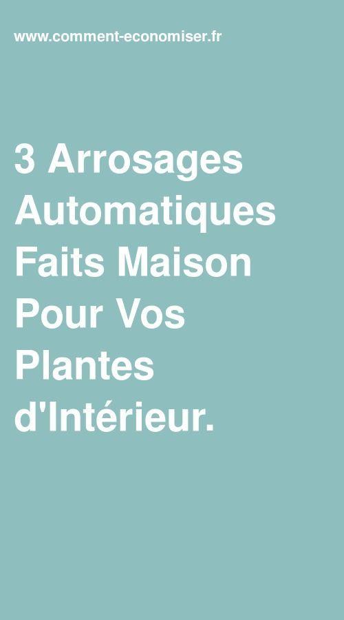 3 Arrosages Automatiques Faits Maison Pour Vos Plantes D Interieur