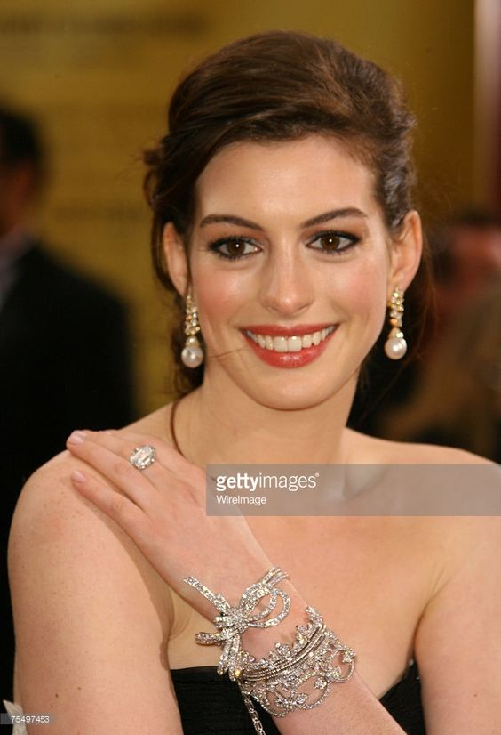 Anne Hathaway at the Kodak Theatre in Los Angeles, California