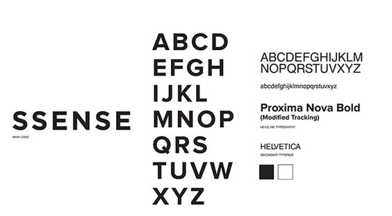 A weeks ago, we posted an infographic about how uncreative streetwear brands like Supreme, HBA and Nike were with their fonts — basically everyone uses either Futura or Helvetica. So, here's part II of our investigation into streetwear and fashion house fonts.