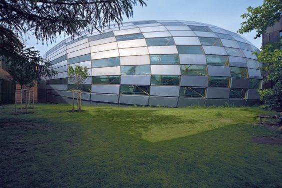 Famous Architects - Norman Foster - Free University Berlin #architecture ☮k☮