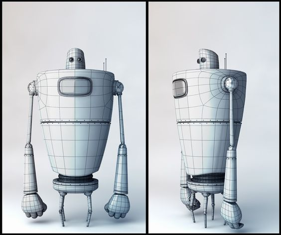 3d Character Design Website : D point of view website has a collection great simple