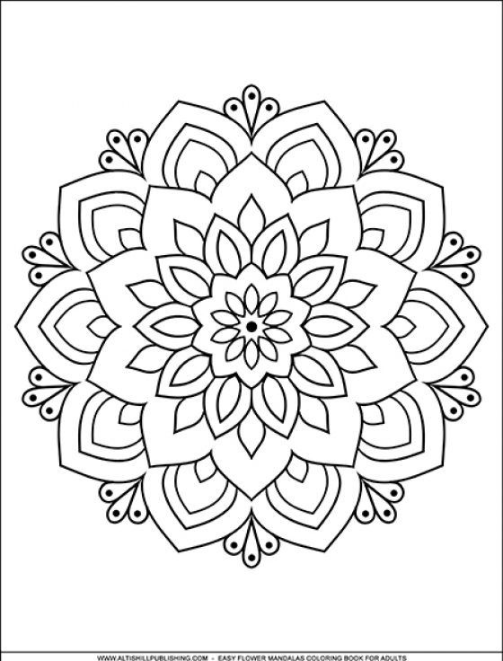 Free Download – Happy Coloring Books Mandala Coloring Books, Mandala  Coloring Pages, Mandala Coloring