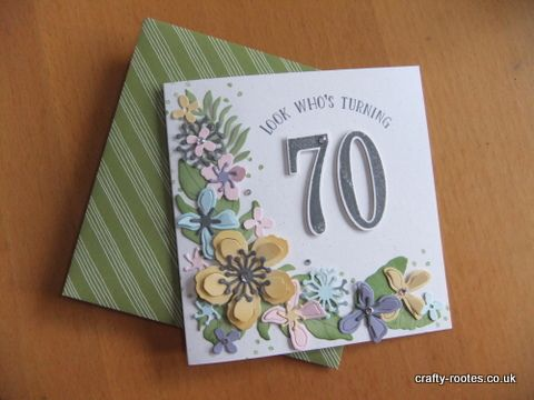 Number of Years and Botanical Builder dies from Stampin' Up!