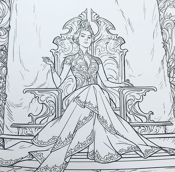 ACOTAR coloring book - - Yahoo Image Search Results