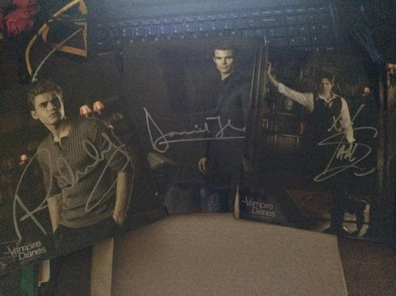 NEW Giveaway! Win A Gift Basket from Mystic Falls Tours PLUS an Autographed Photo!