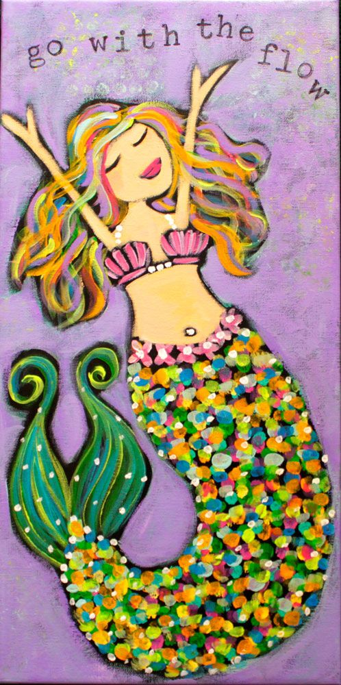 "google mermaid pictures | mermaid is the perfect reminder for us to ""Go With the Flow"" in our ..."