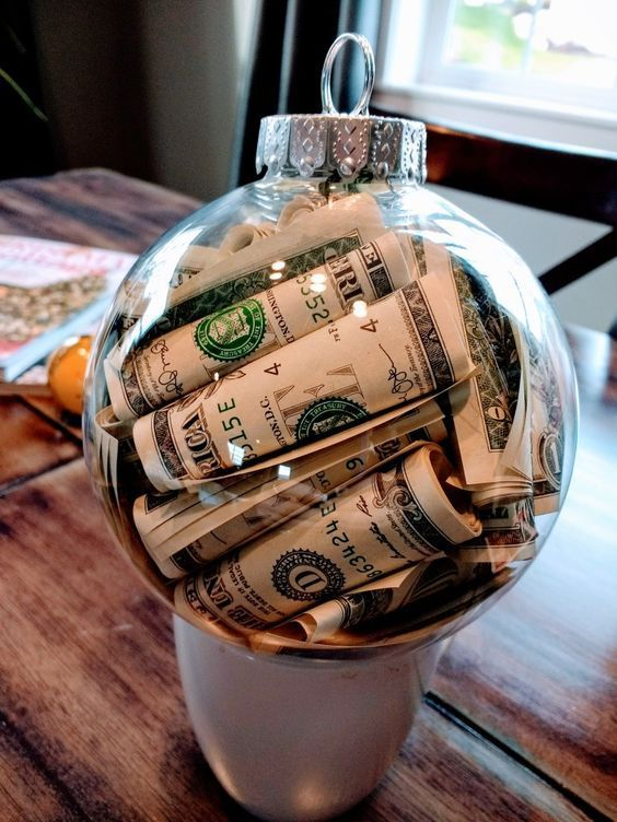 Pinterest Christmas Money Homemade Christmas Gifts Diy Christmas Ornaments Easy
