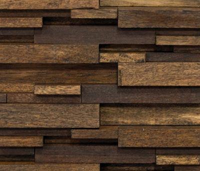 Noohn Stone Mosaics Modul Wood de Porcelanosa | Revestimientos de fachada Más
