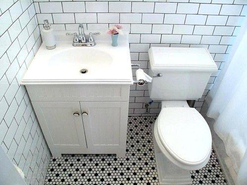 Remodel Black And White Bathroom Floor Tile Black And White Tiles Bathroom White Bathroom Tiles Bathroom Flooring