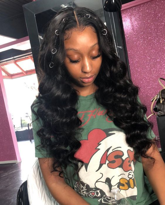 Body Wave Sew In With Frontal Hairstyles For Black Women Online Shop Best Virgin Hair Bundles Grea Peruvian Hair Body Wave Body Wave Hair Human Hair Extensions