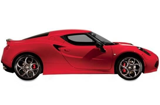 ALFA ROMEO RETURNS TO THE U.S. WITH THE FIERCELY SEXY 4C