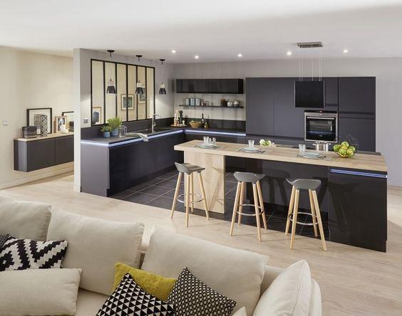 17 Best images about idée deco futur maison on Pinterest Kitchen - fabriquer sa cuisine en bois