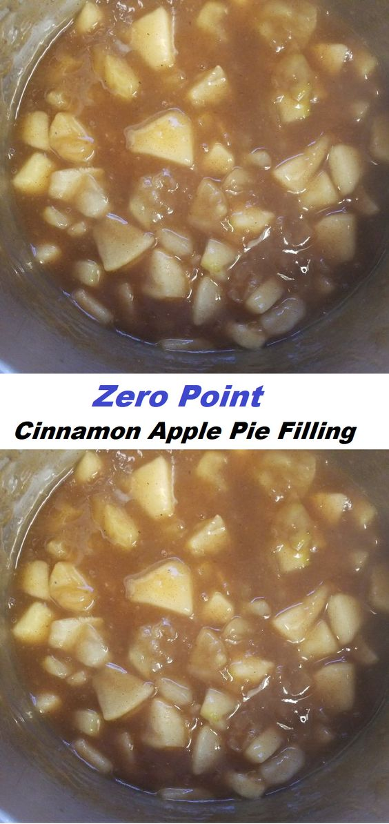 Zero Point Cinnamon Apple Pie Filling// #Zero #Point #Cinnamon #Apple #Pie #Filling