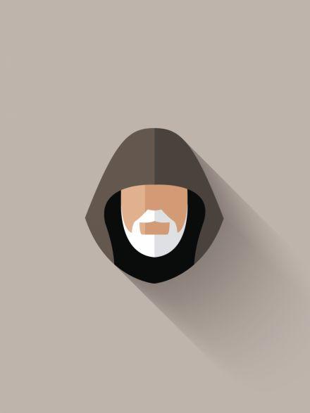 Obi-Wan Kenobi Minimalist Poster