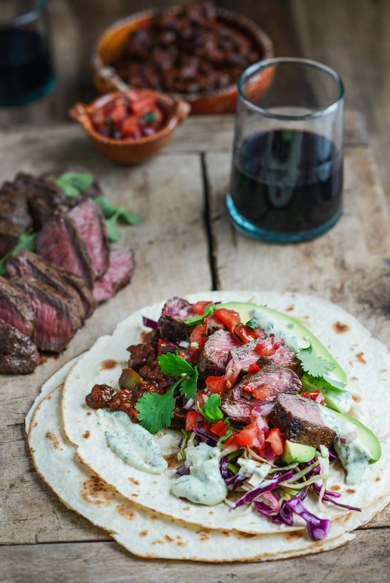 tacos flat iron steak pico de gallo mole flat irons steaks tacos black ...