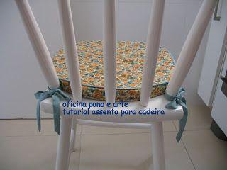 Oficina Pano e Arte Patchwork - quilt - dolls: tutorial - assento para cadeira
