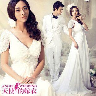 天使的嫁衣 双12新娘婚纱礼服旗袍伴娘小礼服188元疯抢 9967-淘宝网