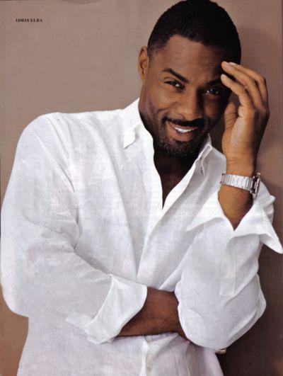 Idris Elba: Eye Candy, This Man, Idris Elba, Black Men, Beautiful Men, White Shirts, Handsome Men, Man Candy, British Accent