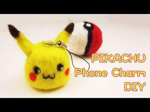 Pikachu Charm DIY & GIVEAWAY | Sunny DIY - YouTube