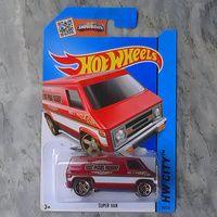 Hotwheels Supervan Merah Murah
