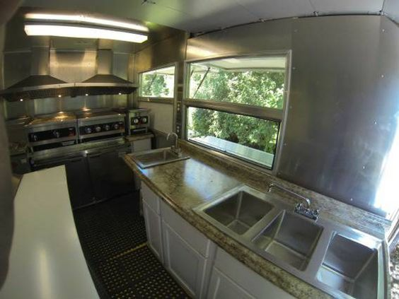 Food truck interior food truck and trucks on pinterest for Food truck interior design