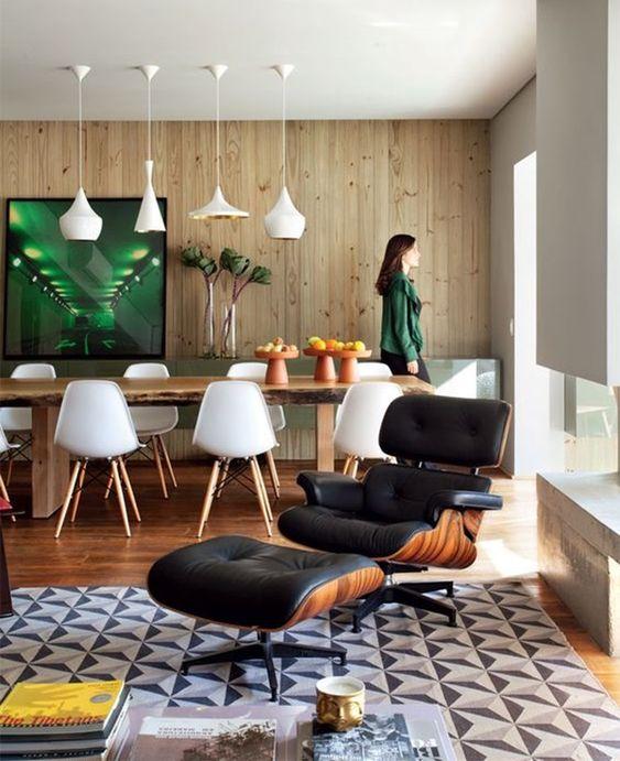 Poltrona Charles Eames - Poltrona decorativa