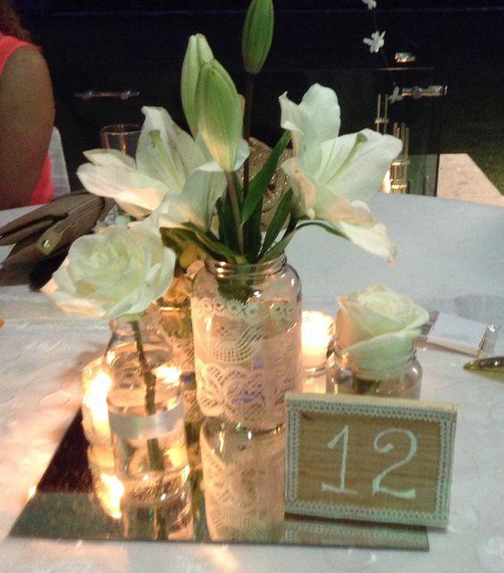 Números en las mesas