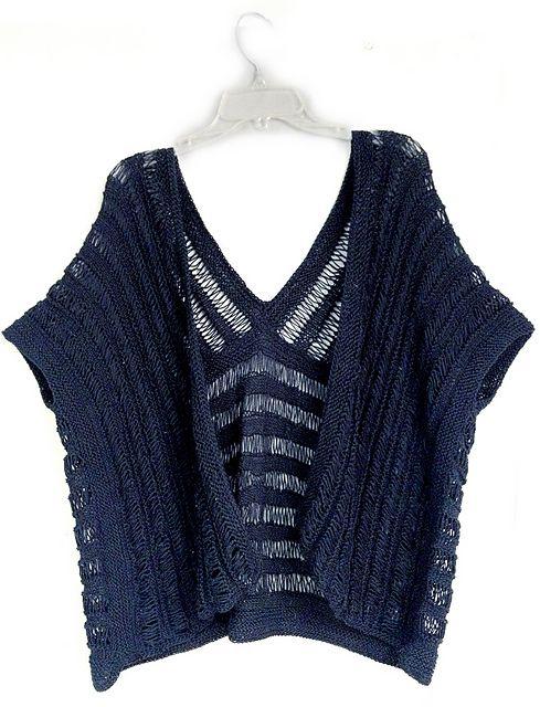 Kimono Scarf Knitting Pattern : kokonoirs SUMMER COTTON WRAP ruana/kimono style Kimonos, Summer and Ra...