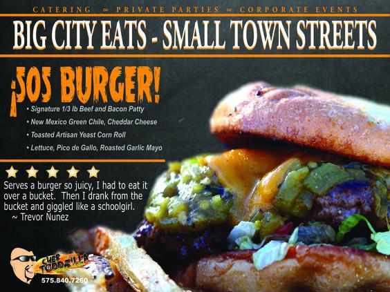 Chef Toddzilla's 505 Burger