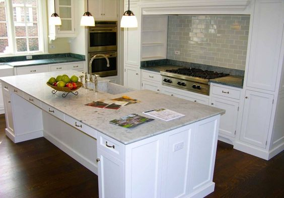 Stone Island top & Countertops K1016 by Marble Emporium Inc.