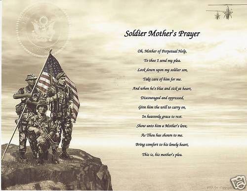 Mother prayer prayer poem and more prayer poems soldiers poem prayer