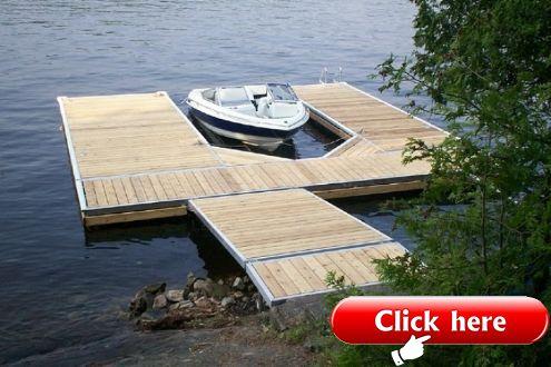 Floating Docks On The Water Designs Portfolio Floating Docks 2019 Deck Ideas Floating Dock Lakefront Living Floating Boat