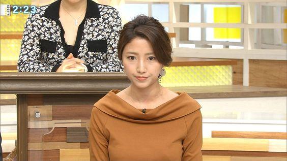 グッディ!の収録で真剣な表情をしている三田友梨佳アナの画像